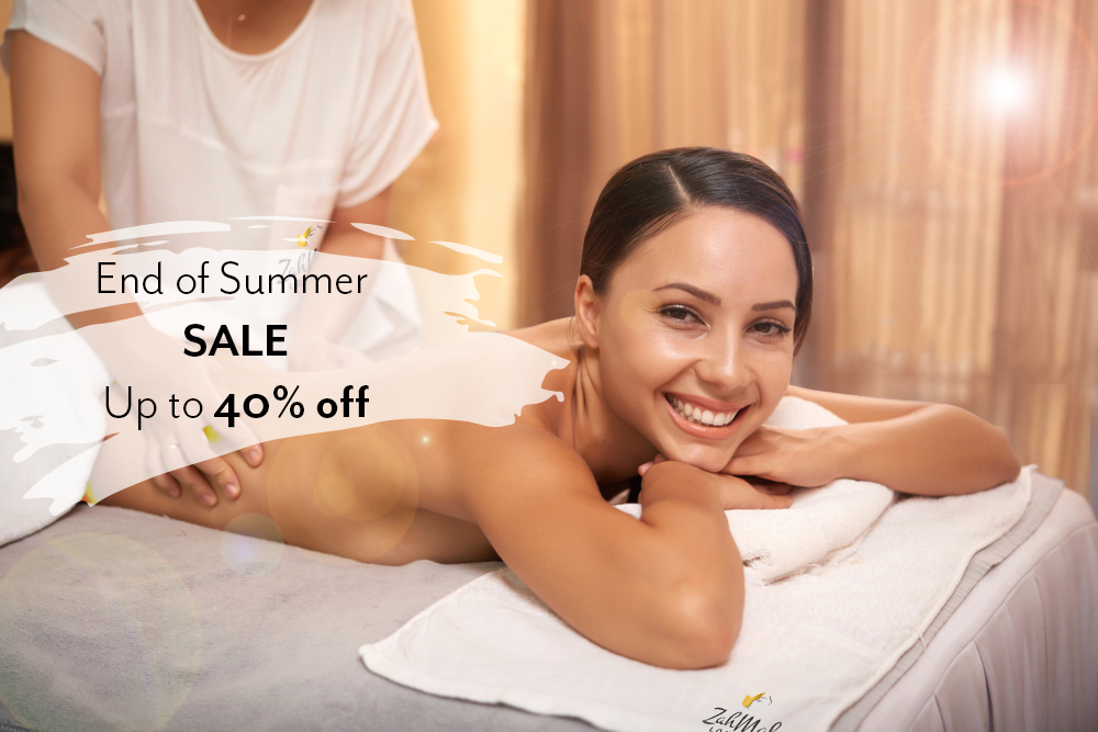 end of summer massage deal
